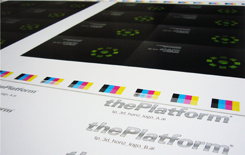 thePlatform Print Collateral