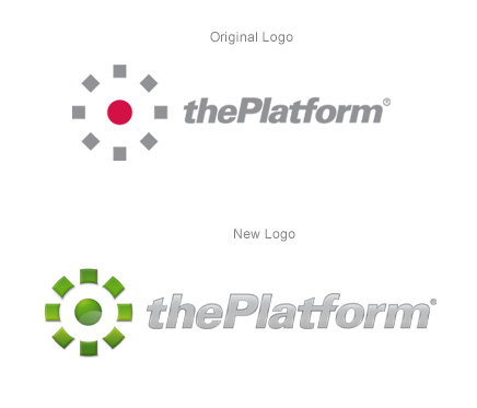 thePlatform Logos From old to New