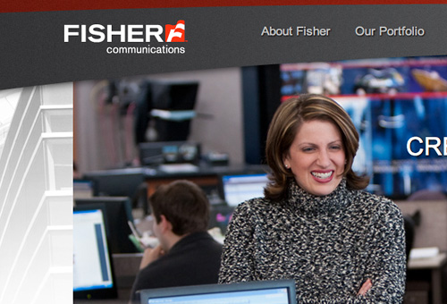 Fisher Communications Website Design