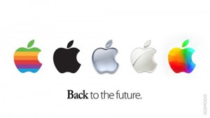 Apple Logo - Back to the Future