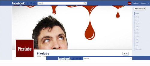 Facebook Timeline Business Page - Pixelube