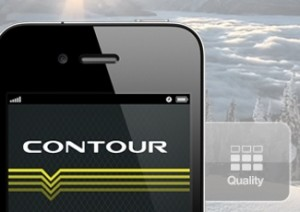 Contour iPhone UX App Design