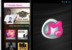 T-Mobile UX Music Appliccation