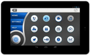 VoiceBox Tablet Dashboard