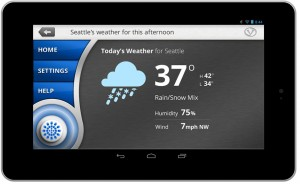 VoiceBox Tablet Weather