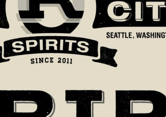 Rain City Vodka Identity & Logo Design