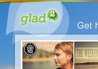 Glad2 UX & Website Design