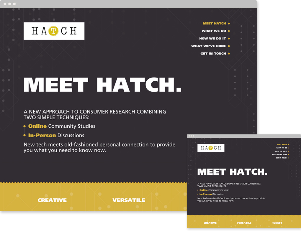 Website UX Hatch