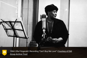 Ella Fitzgerald at Abbey Road Studios