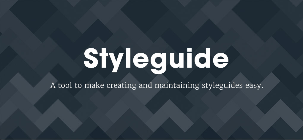 A Free UX / Brand Styleguide Tool by Huge