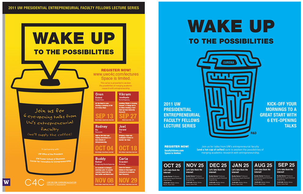 Pixelube » University of Washington - C4C Event Posters